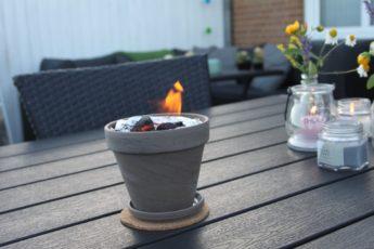 Diy mini bord bål og grill