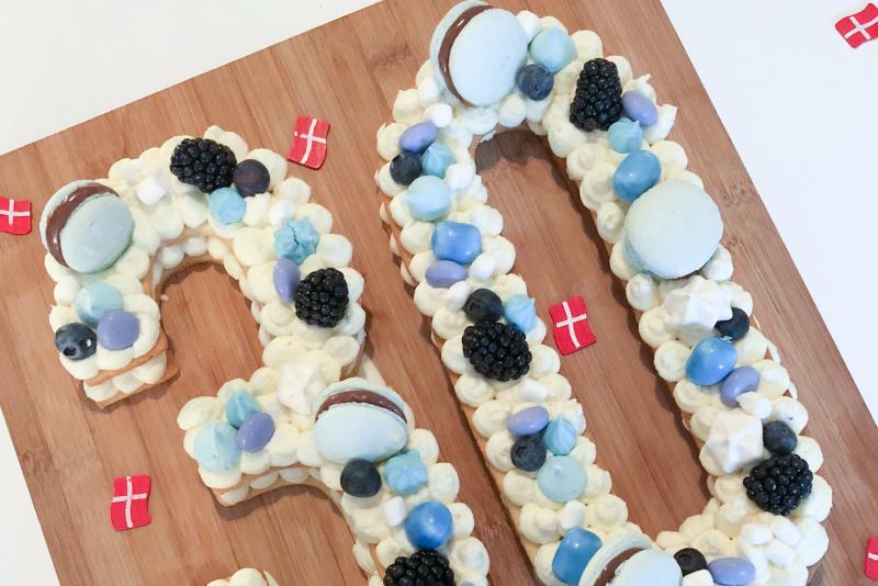 Blå talkage til 30 års fødselsdag