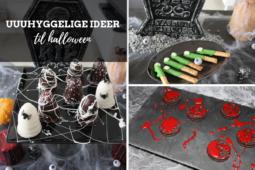Halloween: Uhyggelige snacks og ideer
