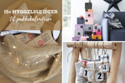 Pakkekalender – 15+ ideer og inspiration til pakkekalenderen
